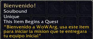 Bienvenido!