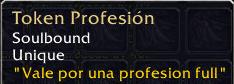 token profesion